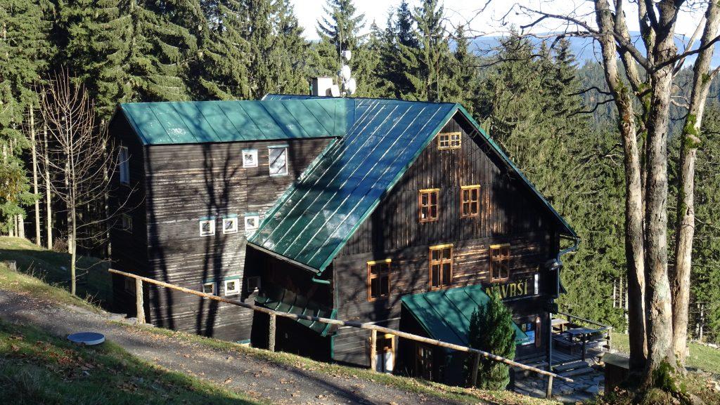 chata Návrší (900m)